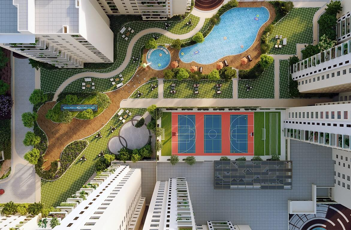 Central amenities