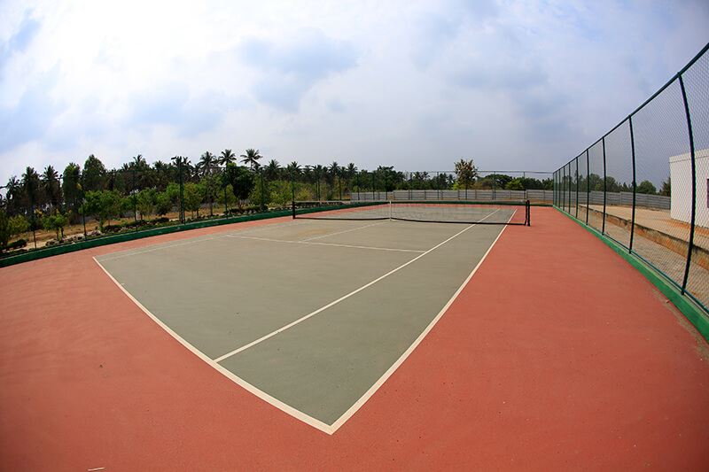 Fully Functional Tennis Court