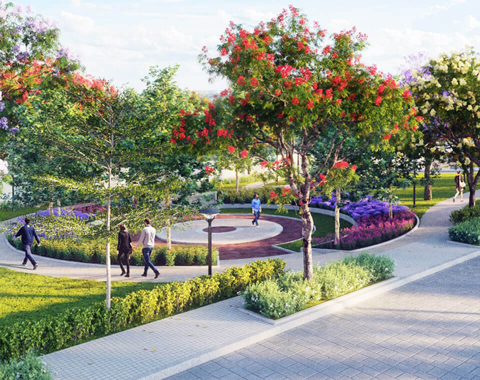 SUSTAINABLE FEATURES THAT GIVE BACK TO NATURE