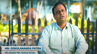'Impressed by the quality, concept and hassle-free project delivery' - Mr. Gokulananda Patra