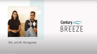 'Access and view to open spaces feels really good...'Mrs. and Mr. Munegowda