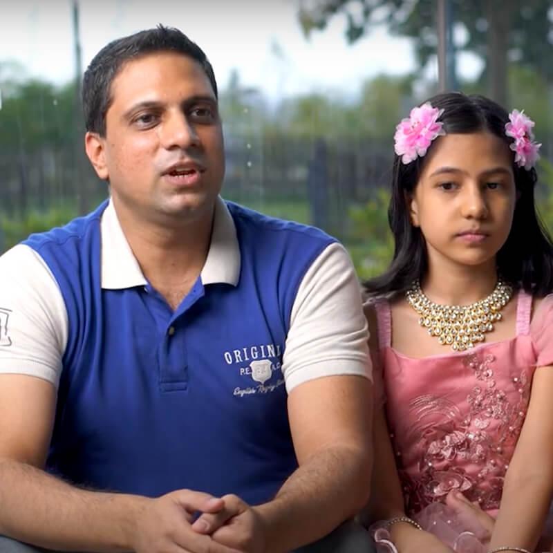 Mr. Prashanth & Family